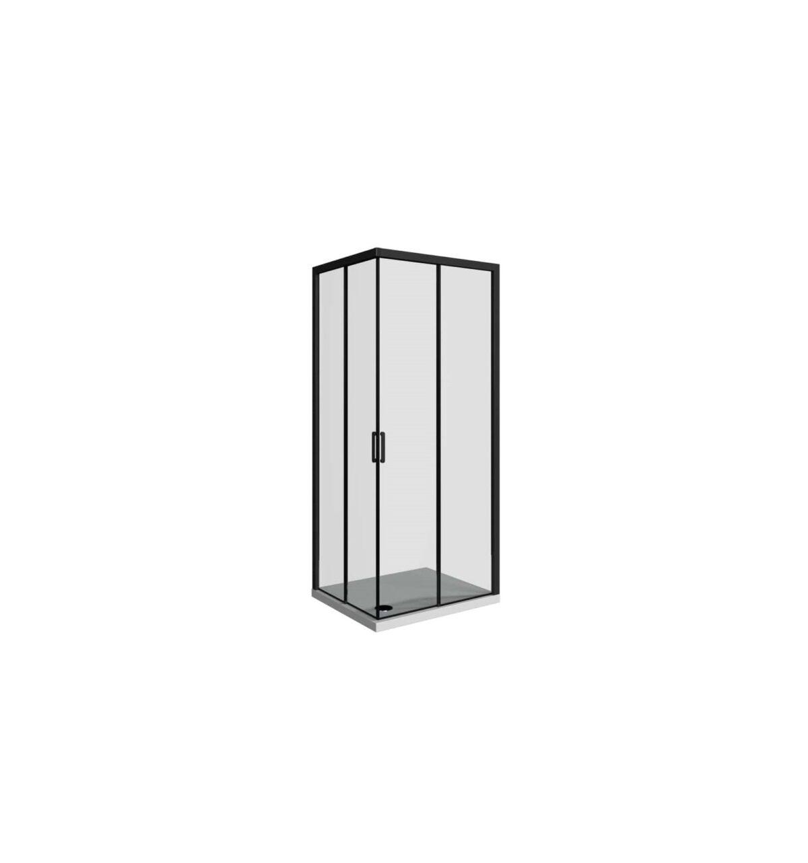 domino black tus kabina pravokutna 100x80 klik 1